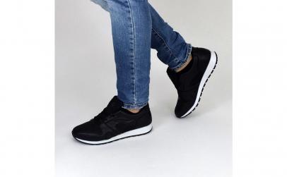 Pantofi sport casual barbati negru