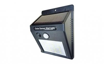 Aplica solara cu LED si senzor de miscar