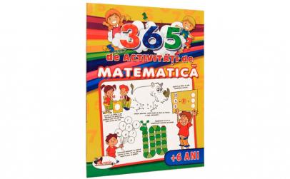 365 de activitati de matematica (+6 ani)