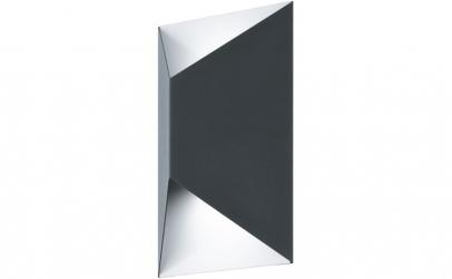 Aplica neagra exterior LED Predazzo