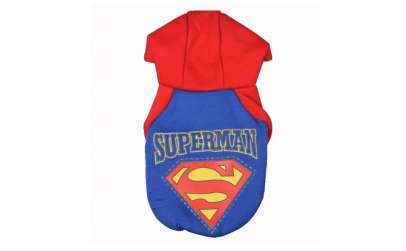 Costum Superman pentru catei si pisici
