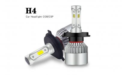 Set 2 LED-uri Auto H4, 6500K