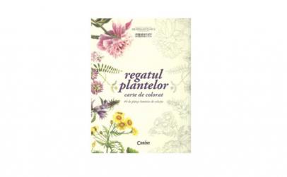 Regatul plantelor (Carte de colorat)