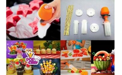 Set forme pentru fructe si legume