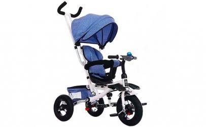 Tricicleta Premium Kota Baby Albastra