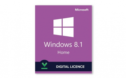Microsoft Windows 8.1 Home, 32/64bit