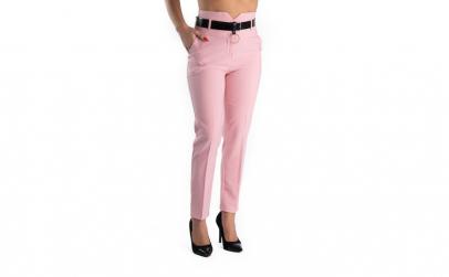 Pantaloni Dama Roz Office Afrodita 36