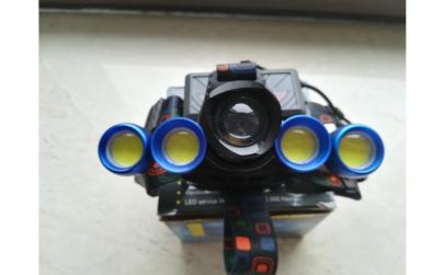 Lanterna frontala reglabila