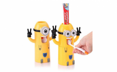 Dozator de pasta de dinti Minion
