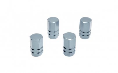 Set 4 capacele ventil argintiu 9552