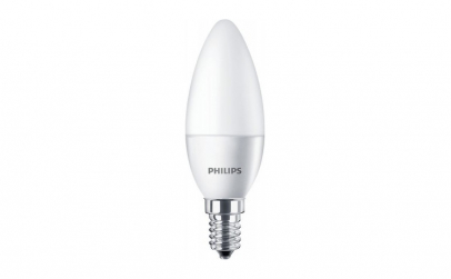Bec LED E14 5.5W Lumanare Philips