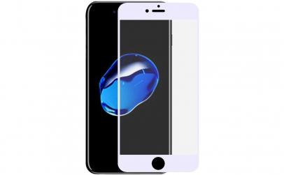 Folie sticla iPhone 6/6S Plus White