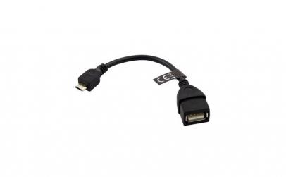 CABLU OTG USB - MICRO USB 10CM