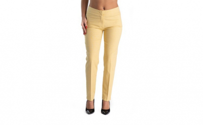 Pantaloni Dama Galbeni Sunny 38