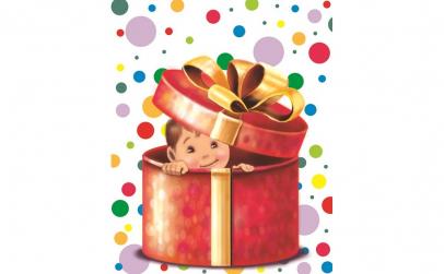 """Carte personalizata """"Un cadou special"""""""