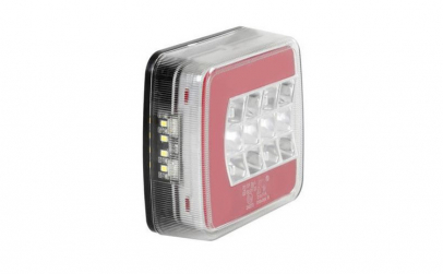 Lampa stop camion patrata LED SMD