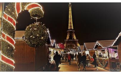 Piata de Craciun de la Paris