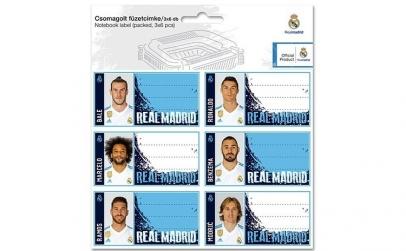 Etichete caiet FC Real Madrid 2017-2018