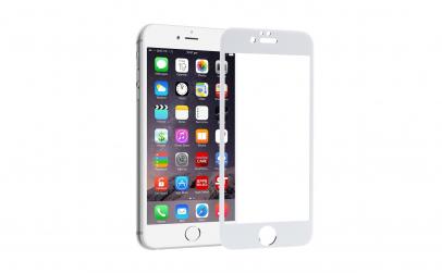 Folie sticla Iphone 6 Plus/6S Plus Alb