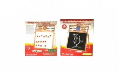 Tabla magnetica educativa 5 in 1