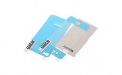Folie iPhone 4/4S tip skin albastra