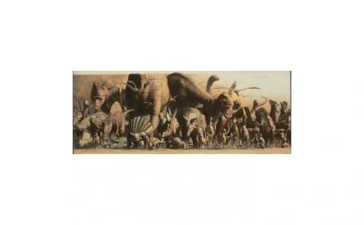 Poster deluxe tip panorama - Dinozauri