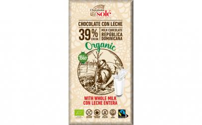 Ciocolata cu lapte Bio si Fairtrade, 100