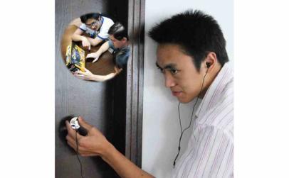 Dispozitiv de ascultare audio spion