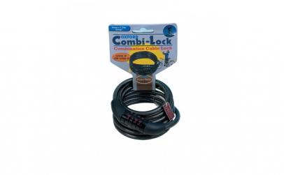 Lacat combinatie cu cablu 1500mmx6mm
