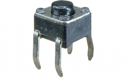 Push buton 4,5x4,8mm, inaltime 4mm -