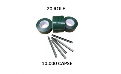 20 role banda + 10.000 capse aparat vie