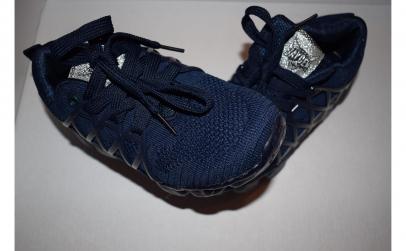 Adidasi albastri cu siret pentru baieti