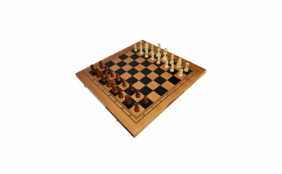 Joc 3 In 1: Sah,Table,Dame-47x25 cm