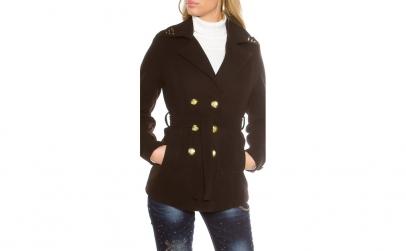 Palton Trendy pentru femei, scurt