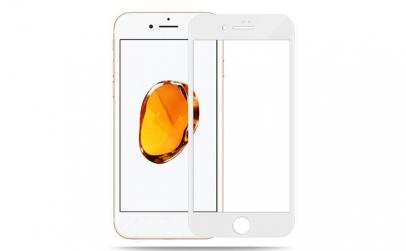 Folie sticla Iphone 7/8 Alb