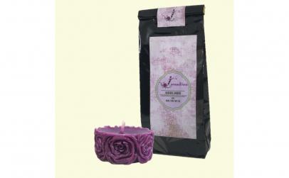 Ceai Rooibos Amour, 50 g + Lumanare