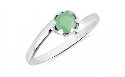 Inel argint Roxelana  925  cu smarald