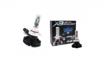 Set 2 Becuri Auto X3 H7 Premium 50W