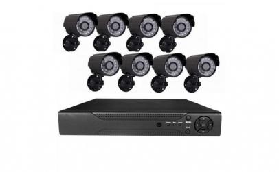 Sistem supraveghere 8 camere video