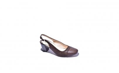 Pantofi piele naturala dama Still,