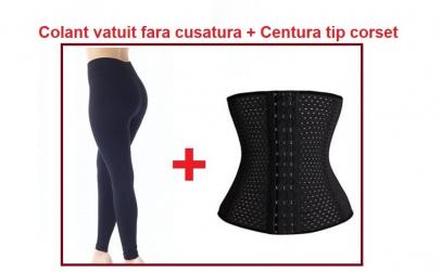 Colant vatuit + Centura tip corset