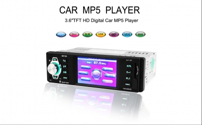 Radio auto 1DIN, MP3 / MP5 Player auto