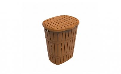 Cos pentru rufe murdare,plastic ,Bamboo