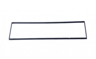 Rama casetofon 182x53mm, negru, 1 DIN,