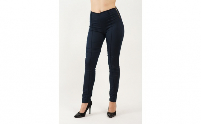 Pantaloni Dama Tip Blug Skinny Bleumarin