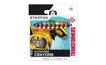 Set 12 creioane cerate Transformers
