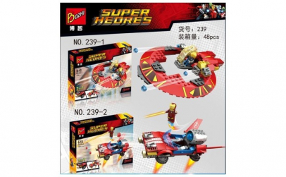 Joc constructie Super Heroes