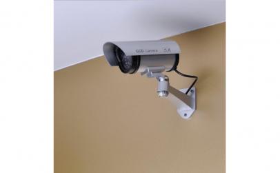Set 2 x Camera de supraveghere falsa