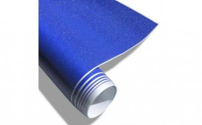 Folie auto EVO catifea albastra 1m X