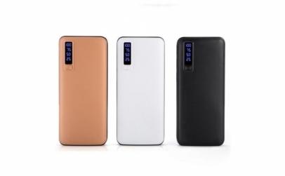Baterie externa 30000 mAh cu 3 USB